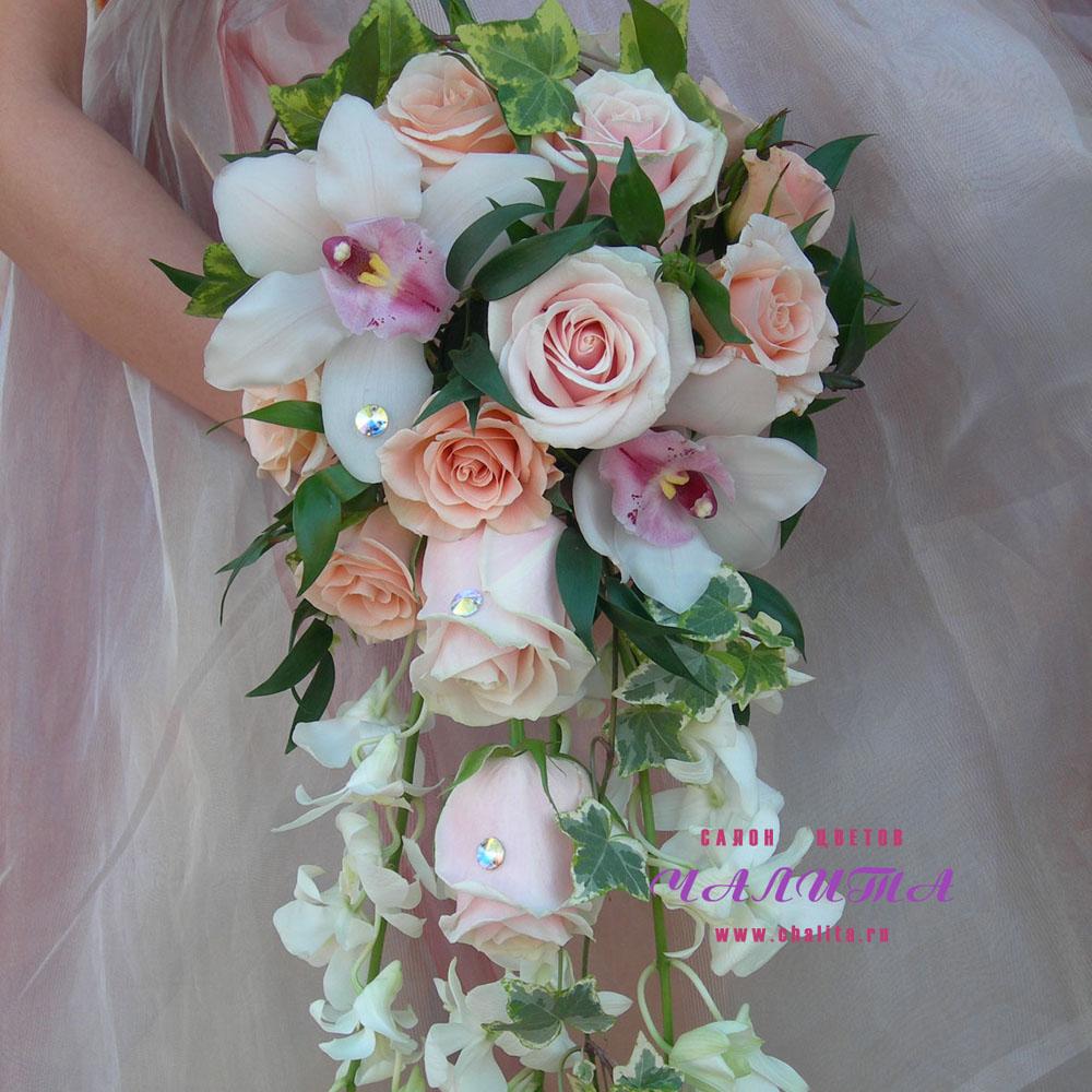Букет невесты «Эксклюзив»