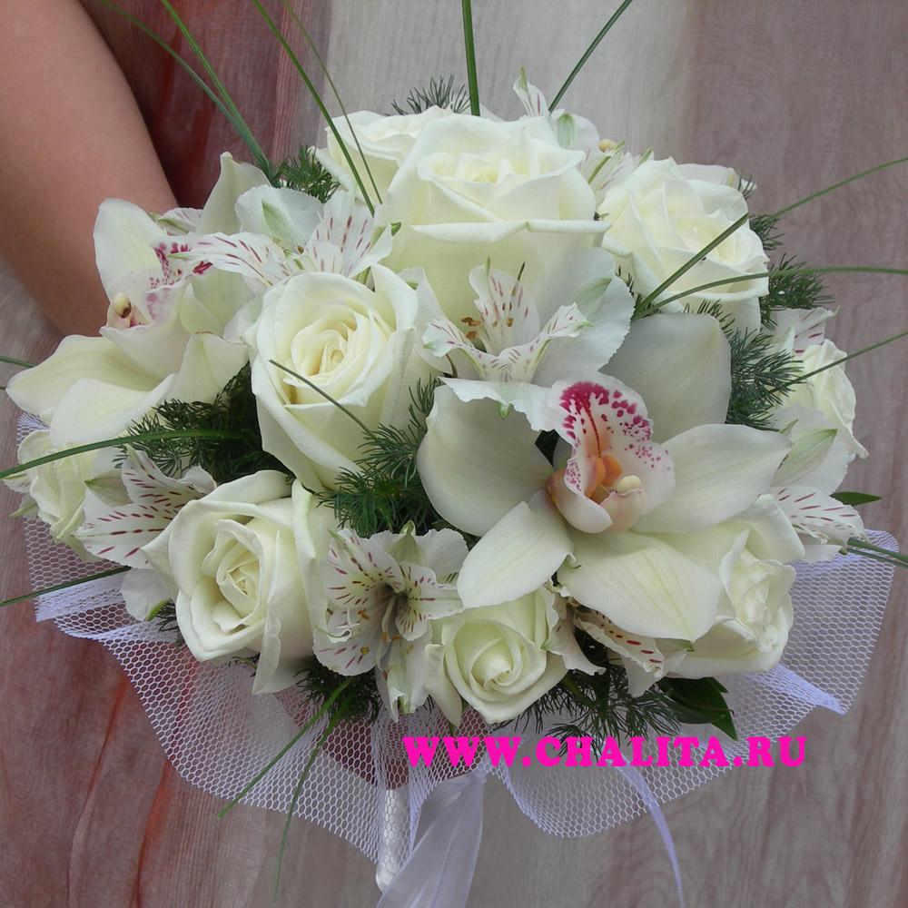 Свадебные букеты невесты с доставкой в Москву, оформление свадьбы